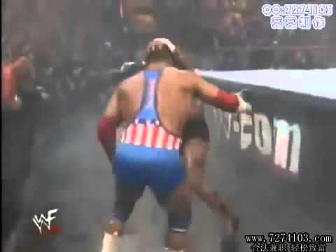 Tazz VS Kurt Angle Royal Rumble 2000