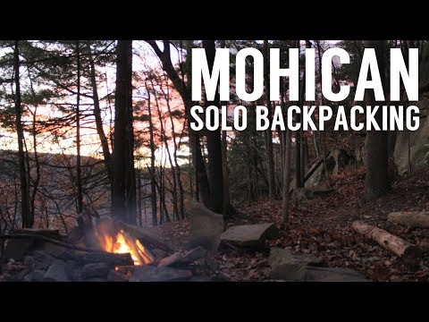 Mohican Solo Backpacking - Tarp Camping - Ohio Fall Overnighter