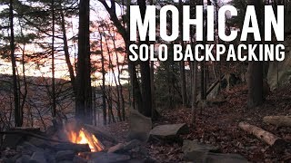 Mohican Solo Backpacking - Tąrp Camping - Ohio Fall Overnighter