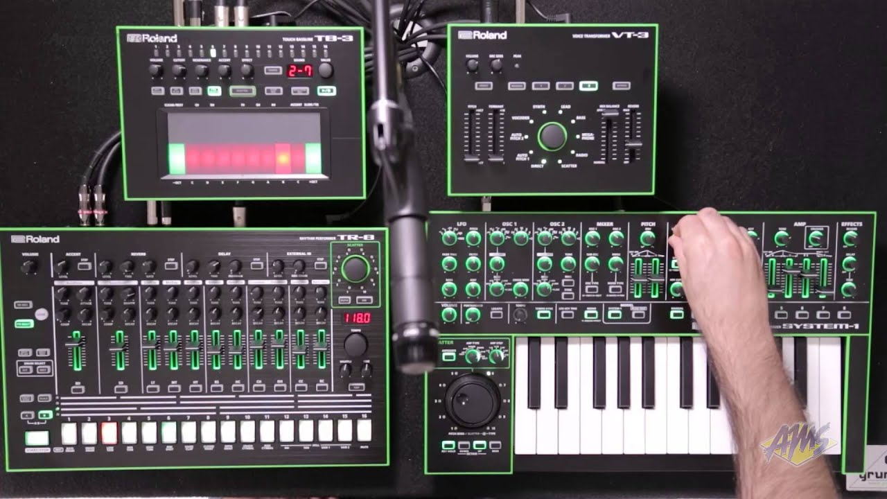Roland Aira System 1 Variable Synthesizer Roland Aira
