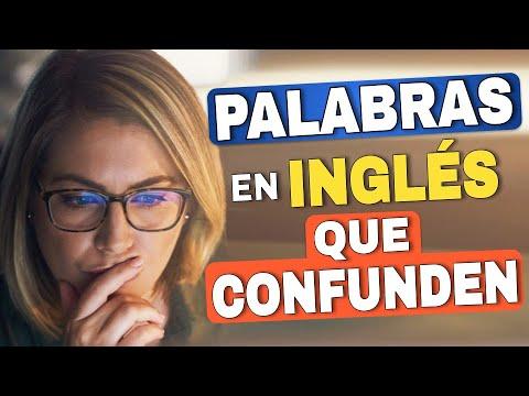 Download 7 PALABRAS en Inglés que CONFUNDEN