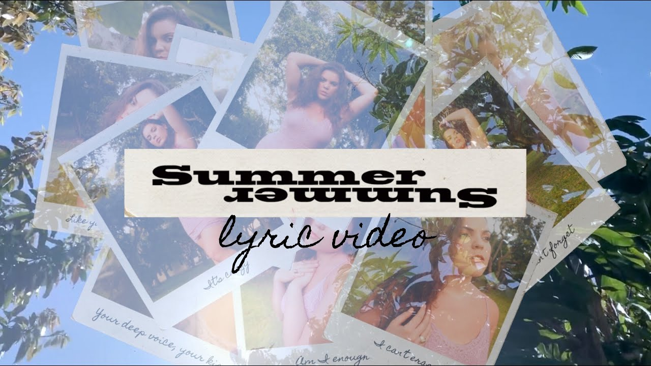Elle Baez - Summer (Official Lyric Video)