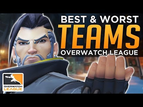 BEST and WORST Pro Overwatch League Teams