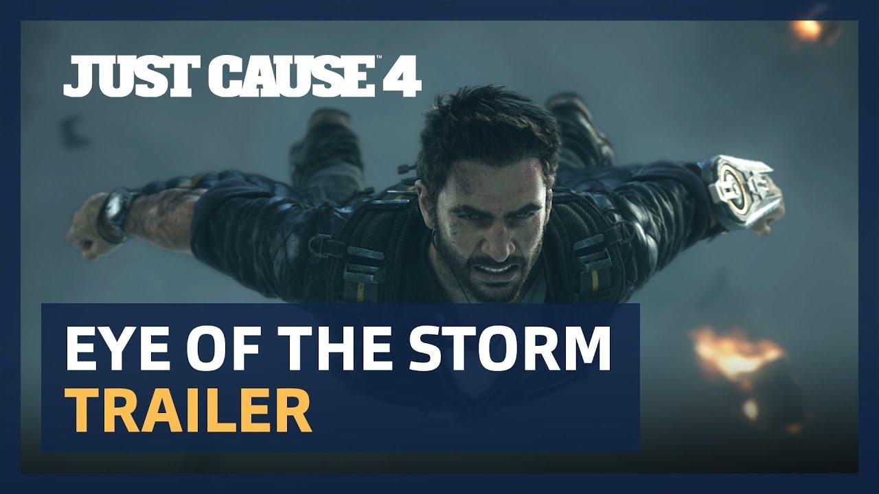 В новом трейлере Just Cause 4 показали ураганный экшен с погонями. И все это под дабстеп!