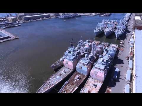 Philadelphia Naval yard