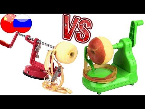 Ух ты, сравнение 2х яблоко-чисток, какая лучше ?