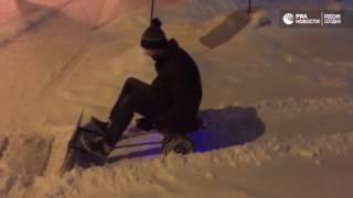 Челябинский снегоуборщик