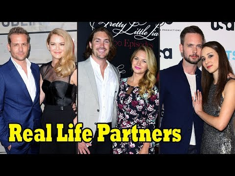 Real Life Partners Of Suits Actors