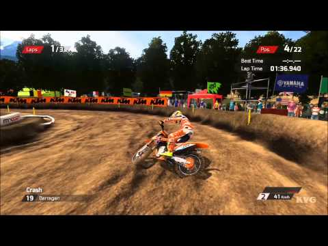 MXGP - The Official Motocross Videogame Gameplay (PS4 HD) [1080p]