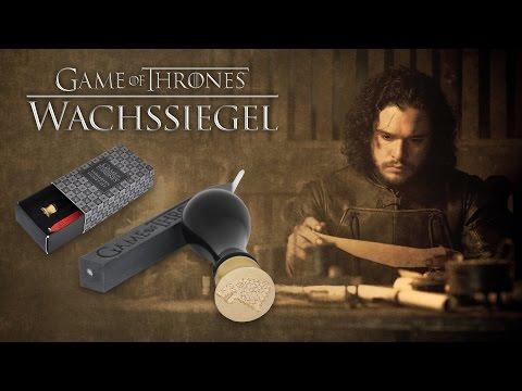 Game Of Thrones: Wachssiegel Der Häuser Stark Und Targaryen