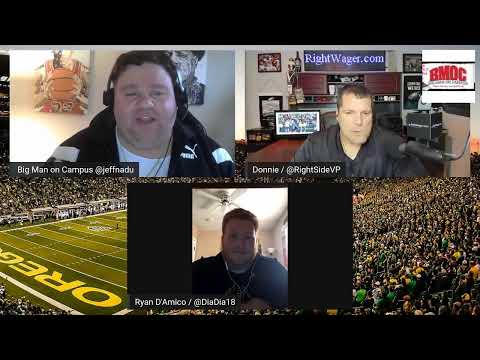 Rightside of Campus Sports Betting Show 12/6/19 & Oregon vs Utah Pac 12 Championship Preview
