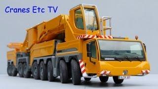 NZG Liebherr LTM 11200-9.1 Mobile Crane Part 1 by Cranes Etc TV