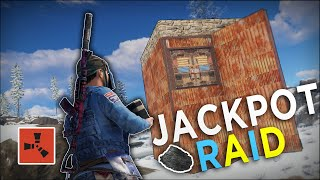 RAIDING a RICH SNOW BASE for an EASY JACKPOT! - Rust Solo Survival #6 (END)