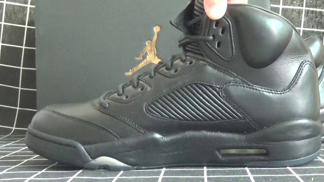 1e4189fd3a4e Authentic Air Jordan 5s Triple Black Review From kicksretro.cn - YouTube