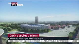Cumhurbaşkanı Erdoğan'dan Ankara'ya Millet Bahçesi müjdesi