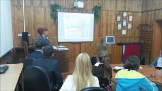 Урок Информационная безопасность 10 а класс Байкальск школа 10