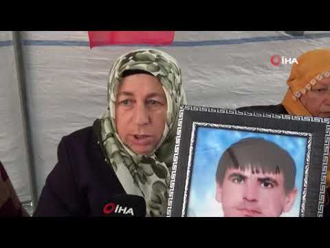 HDP önündeki ailelerin evlat nöbeti 85'inci gününde
