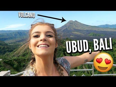 UBUD BALI | Swings, Volcanos, Butterflies, Rice Fields + MORE || Lacey Jane