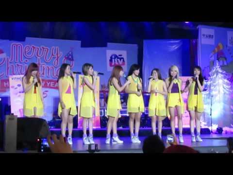 [Latepost] Cherrybelle bawa lagu Natal - Kidung Ceria JTV - Surabaya 071214