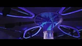 Digital LED strips DMX control by Madrix at Club The One-Cacao Beach made by Music Shop Ellectrica