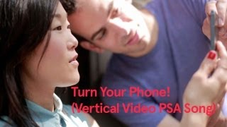 Turn Your Phone! (Vertical Video PSA) (Song A Day #1647)(http://jonathanmann.net Turn Your Phone PSA (Song A Day #1647) Please film in landscape mode Turn your phone, please turn your phone Please film in ..., 2013-07-10T00:03:23.000Z)