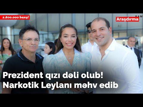 İlham Əliyevin Qızı Leyla Əliyeva Dəli Olub VİDEO