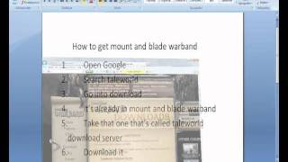 how to get mount and blade warband free with serial code