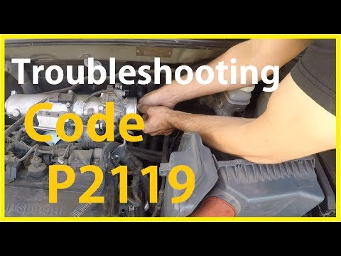 Troubleshooting code p2119