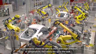 FANUC Industrial robots at AUDI Hungary