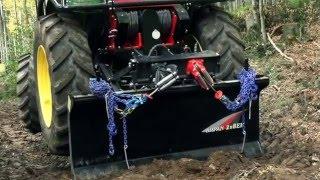 KRPAN DH vitel s konstantno vle?no silo in diferencialnim gonilom - NOVOST!!! Profesionalna nadgradnja gozdarskega traktorja z dvobobenskim vitlom KRPAN  2x8 EH.