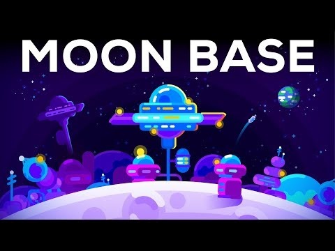 How We Could Build a Moon Base TODAY Space Colonization 1