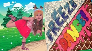 Freeze Dance  Freeze Song  Freeze Dance for Kids  Music for Kids by Miss Lana