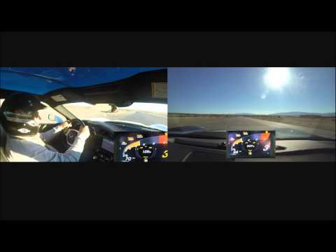 CDR Wayne compares his fastest lap to Instructor Demo at Spring Mountain