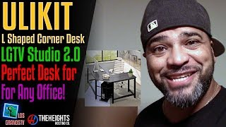 Ulikit L-Shape Corner Desk : LGTV Review