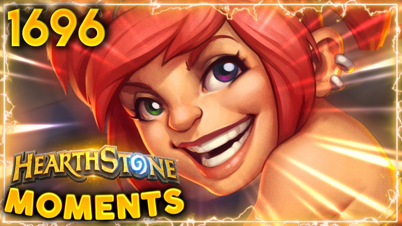Say Hello To My 100+ DAMAGE OTK!! | Hearthstone Daily Moments Ep.1696