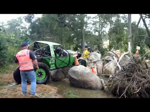 B-stone Offroad - Track 2, Rnd 2 Tough Tracks 4x4 Challenge Landcruiser Mountain Park