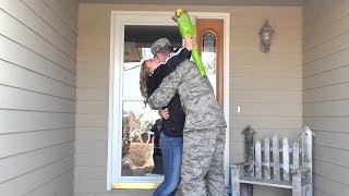 Soldiers Coming Home Surprise Compilation 35