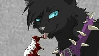 Коты Воители Бич я словно монстр !