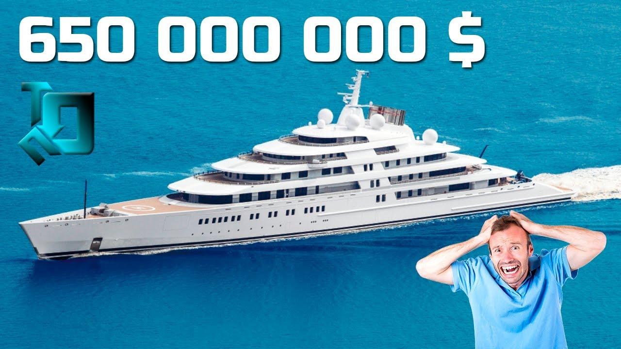 Самые Дорогие Яхты в Мире/Топ 10 | лучшая яхта для путешествий