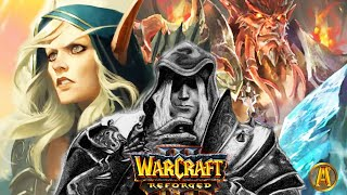 Warcraft: Lich King Arthas & Sylvanas Story - All Cinematics & Cutscenes [Warcraft 3 Lore]