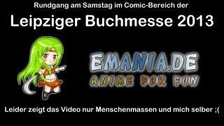 Leipziger Buchmesse 2013 - Rundgang im Comic-Bereich