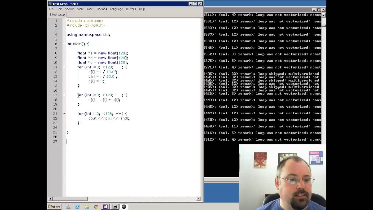 Compiling Vectorized Code with the Intel C++ Compiler