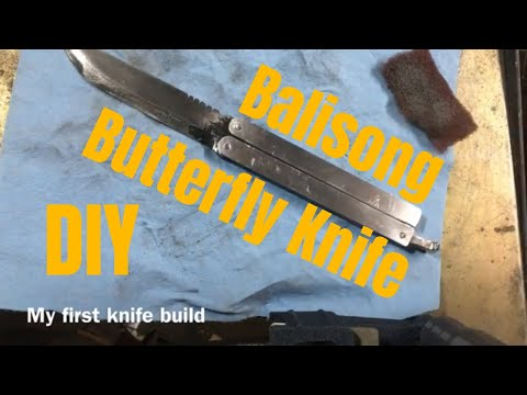 DIY Butterfly Knife (Balisong)
