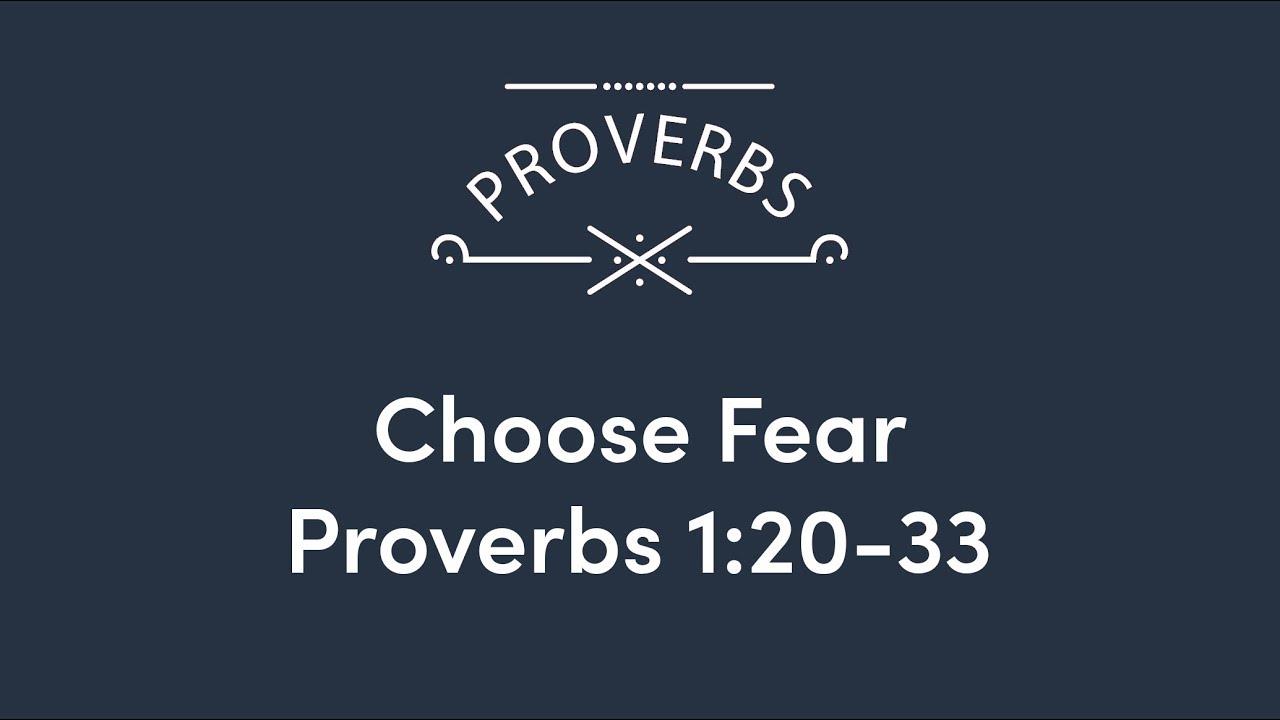 Choose Fear – Heartland Evangelical Free Church