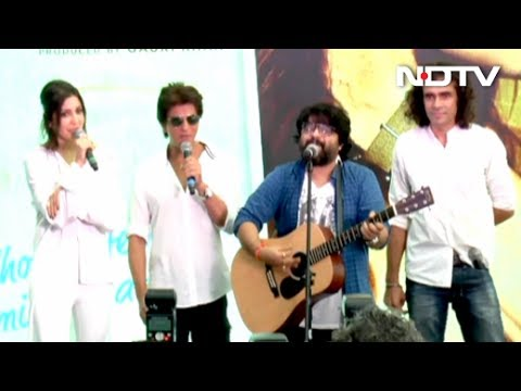 SRK, Anushka, Imtiaz & Pritam At Hawayein Song Launch