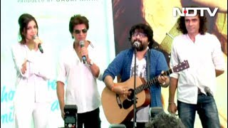 SRK Anushka Imtiaz Pritam At Hawayein Song Launch