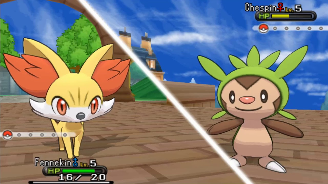 Pokémon X and Y - All Rival Shauna Battles (1080p60) - YouTube
