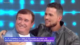 Rodrigo Faro lança filho caçula de Amado Batista como cantor