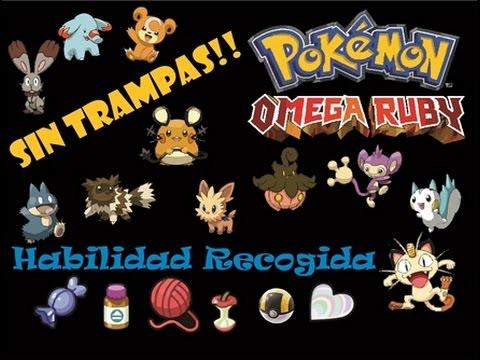 Recogida habilidad pokemon