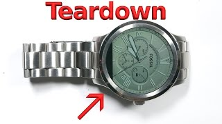 Fossil Q Smart Watch Teardown - Repair Video!